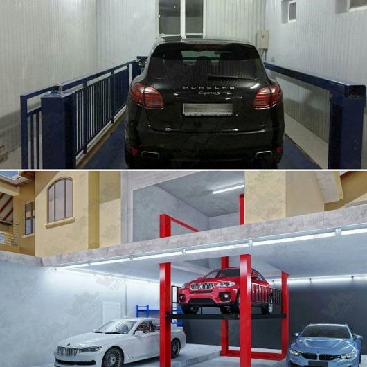 Автомобильный лифт подземный гараж фото